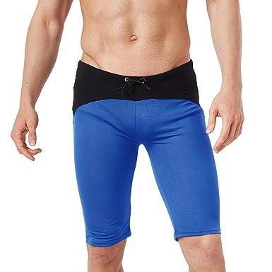 ENCOCO - Pantalones Cortos de compresión para Hombre, para ...
