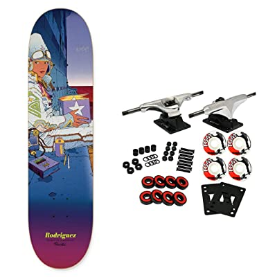 "Primitive Skateboard Complete Moebius Marvel Rodriguez Star Watcher 8.25"" : Sports & Outdoors"