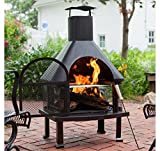 Outdoor Fireplace - Wood Burning Outdoor Fireplace