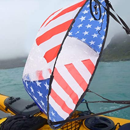 for Kayak Canoe Sailboat Boat Sailboat Wind Sail Paddle AMONIDA PVC 108cm Durable Sturdy Durable Portable Downwind Wind Paddle Portable Downwind Wind Paddle
