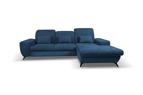 mb-moebel de sofá Cama con Chaise Longue Buzón sofá L Forma ...