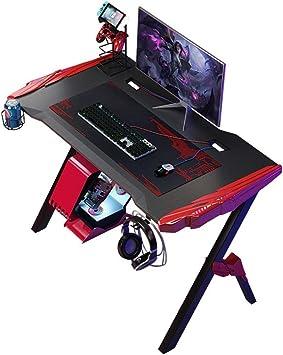 Los escritorios Superior juego de PC E-Sports Tabla ordenador personal mesa de juego individuales Internet Cafe E-Sports computadora de la tabla del escritorio modernos dormitorios ordenador Juego de: Amazon.es: Hogar