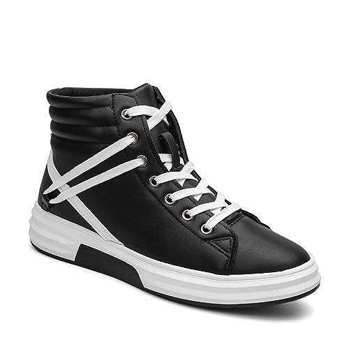 Running Shoes Zapatillas de Deporte de Primavera y Verano para Hombres Zapatillas de Deporte Negras Ocasionales Sneakers for Men: Amazon.es: Zapatos y ...