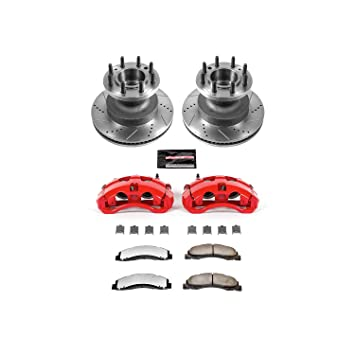 Power Stop KC4717-36 Front Z36 Truck and Tow Brake Kit with Calipers