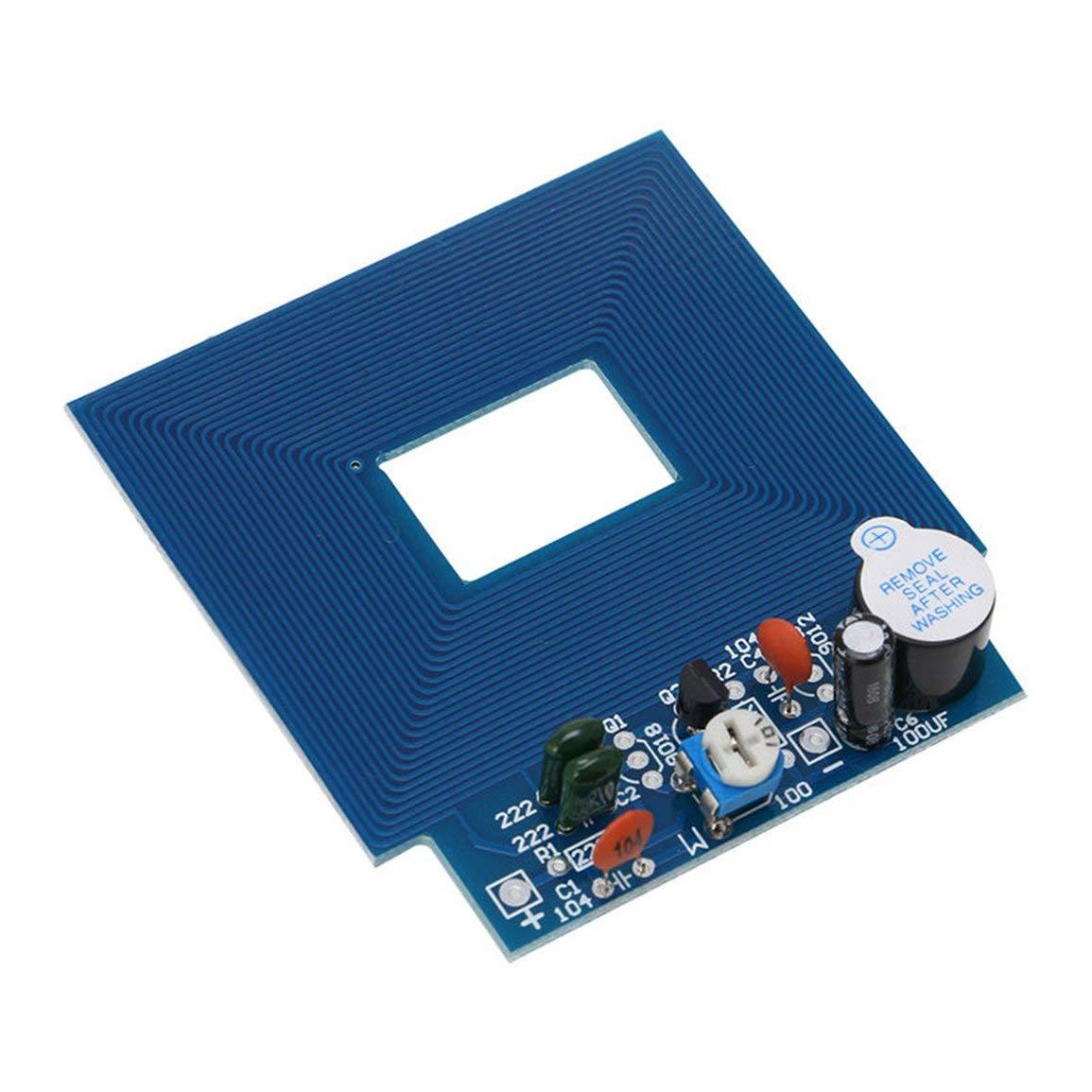 Detector de Metales Simple Localizador de Metales Producci/ón electr/ónica DC 3V - 5V Kit de Bricolaje Materiales ecol/ógicos fghfhfgjdfj