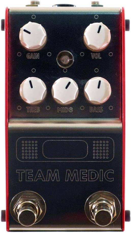 Thorpyfx Team Medic V2 Buffer, Active Eq & Boost Pedal
