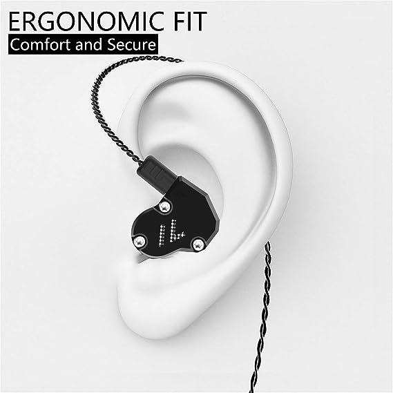 Revonext Qt2 In Ear Monitor Kopfhörer Triple Driver Elektronik