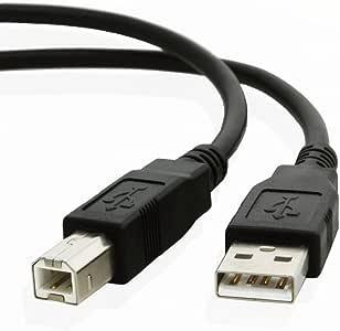 USB Cable Data Cord For Canon All-In-One Printer Pixma MP490 MP495 MP500 MP530