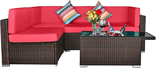 TITIMO 5 Piece Outdoor Patio Furniture Set