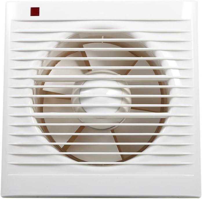 Ventilador de extracción Silencioso, extractor de aire para pared de cocina o cuarto de baño doméstico. 2–16㎡