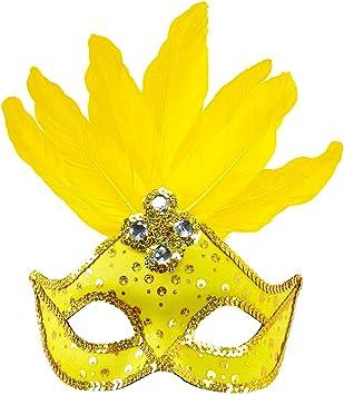 ORIGINALE veneziane Maschera occhi Maschera Con Piume Carnevale Ballo In Maschera Carnevale