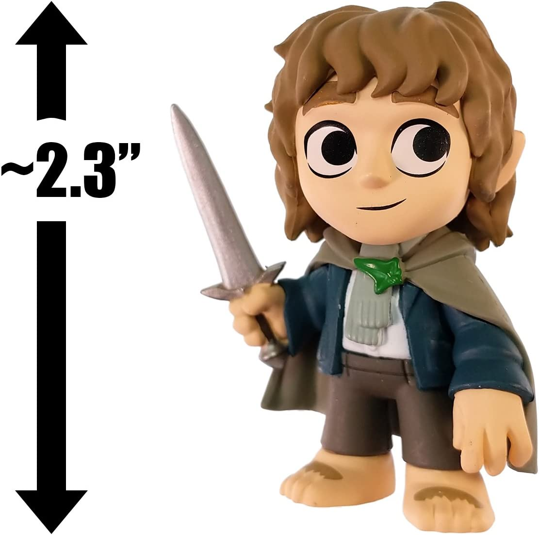 Funko Mystery Minis Lord of the Rings Frodo Baggins /& Samwise Gamgee Set of TWO