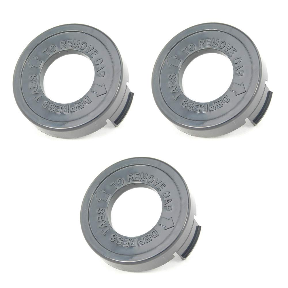 3 Pack of Black and Decker 682378-02 Bump Cap for Grass Trimmers