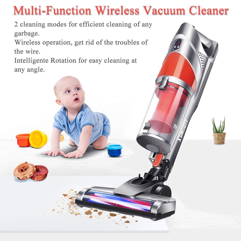aspirateur sans fil 9000pa balai aspiration cyclonique multifonction montage ebay
