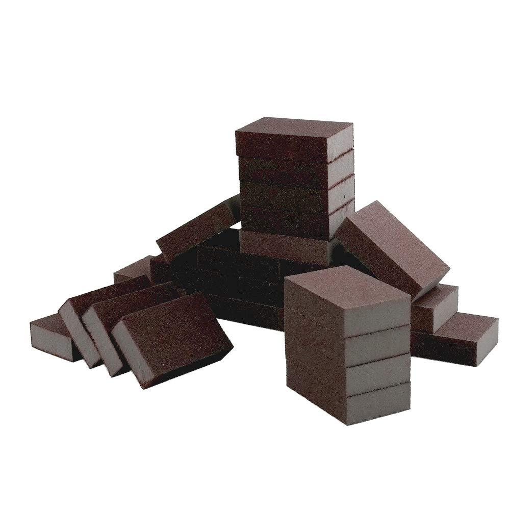 Sandmovie Fine Grit Sanding Sponge Blocks, 24-Pack Sandmovier