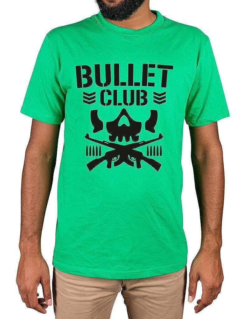 Ulterior Clothing Bullet Club Mma Ufc Fight Japan Wrestling Tshirt Black
