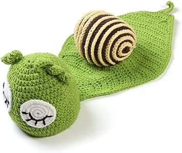 FATTERYU - Kit de Disfraz de Caracol para bebé recién Nacido, niña ...