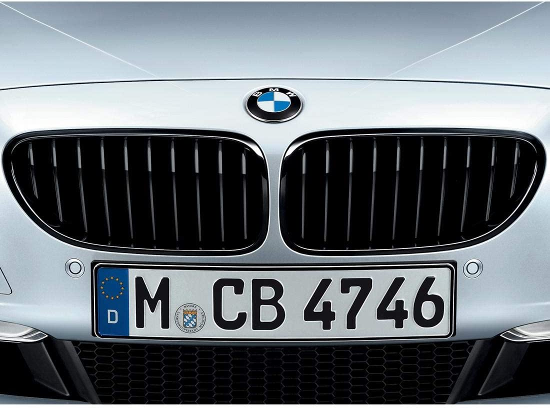 BMW 51712287953 M Performance Gloss Black Kidney Grille for F06//F12//F13 6 Series built after 03//2015