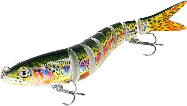 Magreel Cebos Artificiales para Pescar Señuelos Segmento de ...