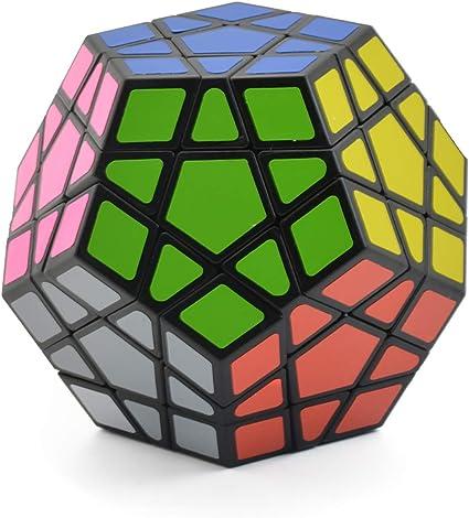 Dreampark 3x3 Megaminx Speed Cube Puzzle Toy Black