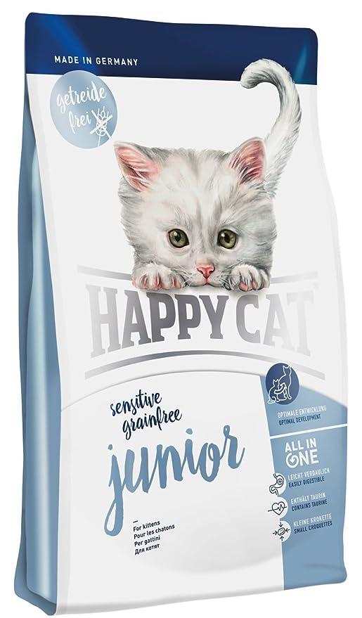 Happy Cat Sensitive Grain-Free Junior Comida para Gatos - 1400 gr