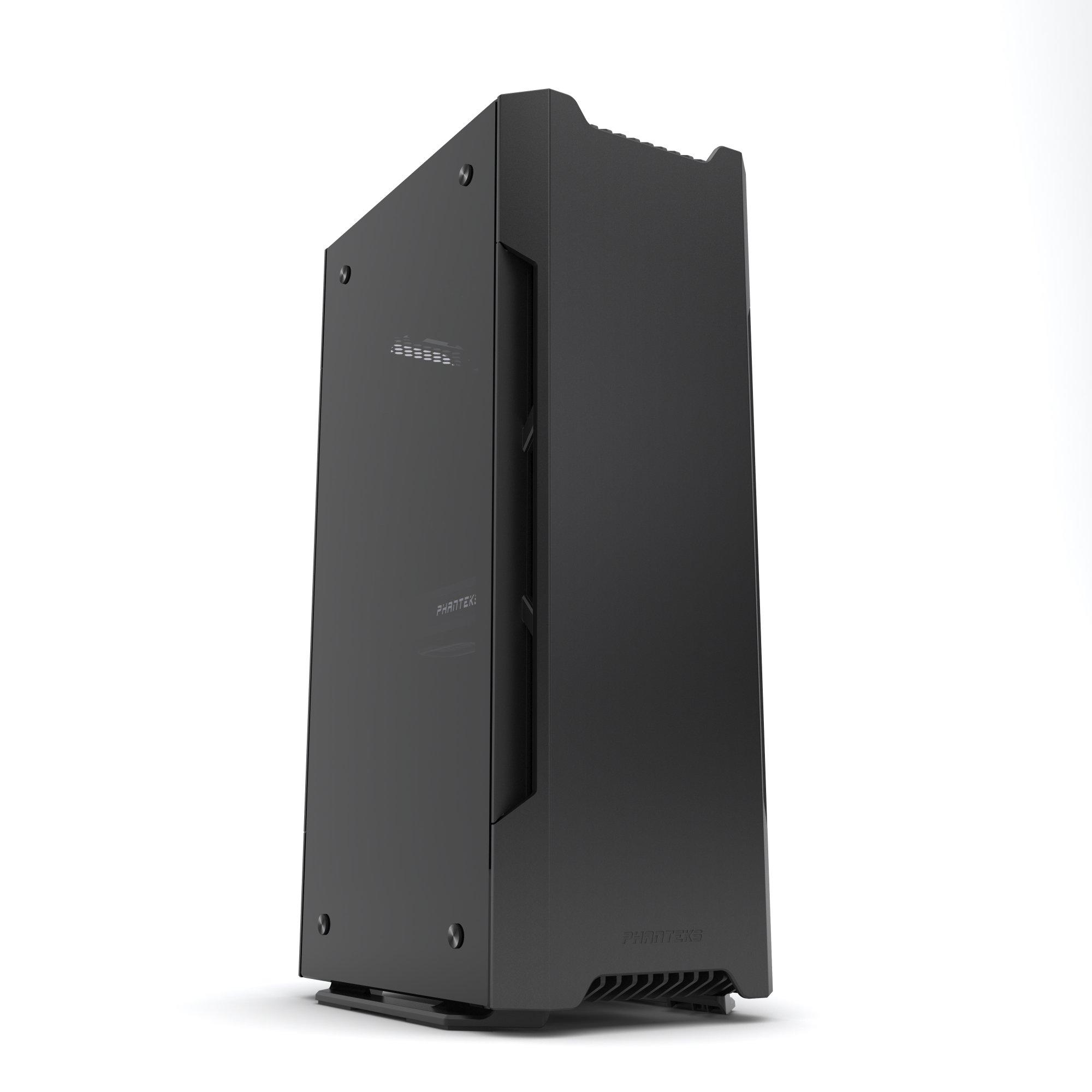 Phanteks Evolv Shift Mini ITX Case Small Footprint Multiple Orientations 360-Degrees of Accessibility Vertical Airflow Cases PH-ES217E_BK Black