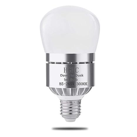 E27 5W 7W 9W LED Glühbirne Dämmerungssensor Lichtsensor Energiesparen Neu 2019