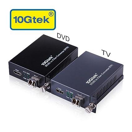 Amazon.com: Un par de HDMI a convertidor de extensor de ...