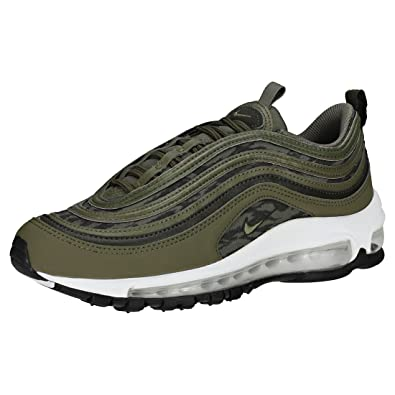 0100d05002df NIKE Air Max 97 Bg Kids Trainers Olive - 3 UK  Amazon.co.uk  Shoes ...