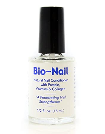 Amazon.com : Bio Nail Gorgeous Nail Formula Strengthener Polish ...