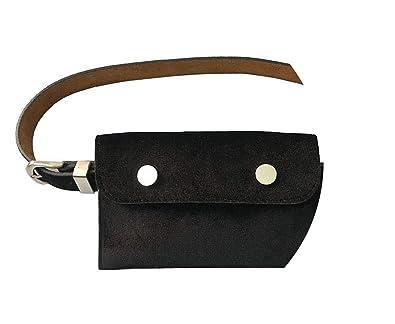 Amazon.com: Bolsa de cintura para mujer con cinturón de ...