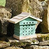 Wildlife World BEVSB Mason Bee Hive, Standard size, Sea Green