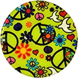 Andreas Silicone Trivet, Peace, 8 Inch
