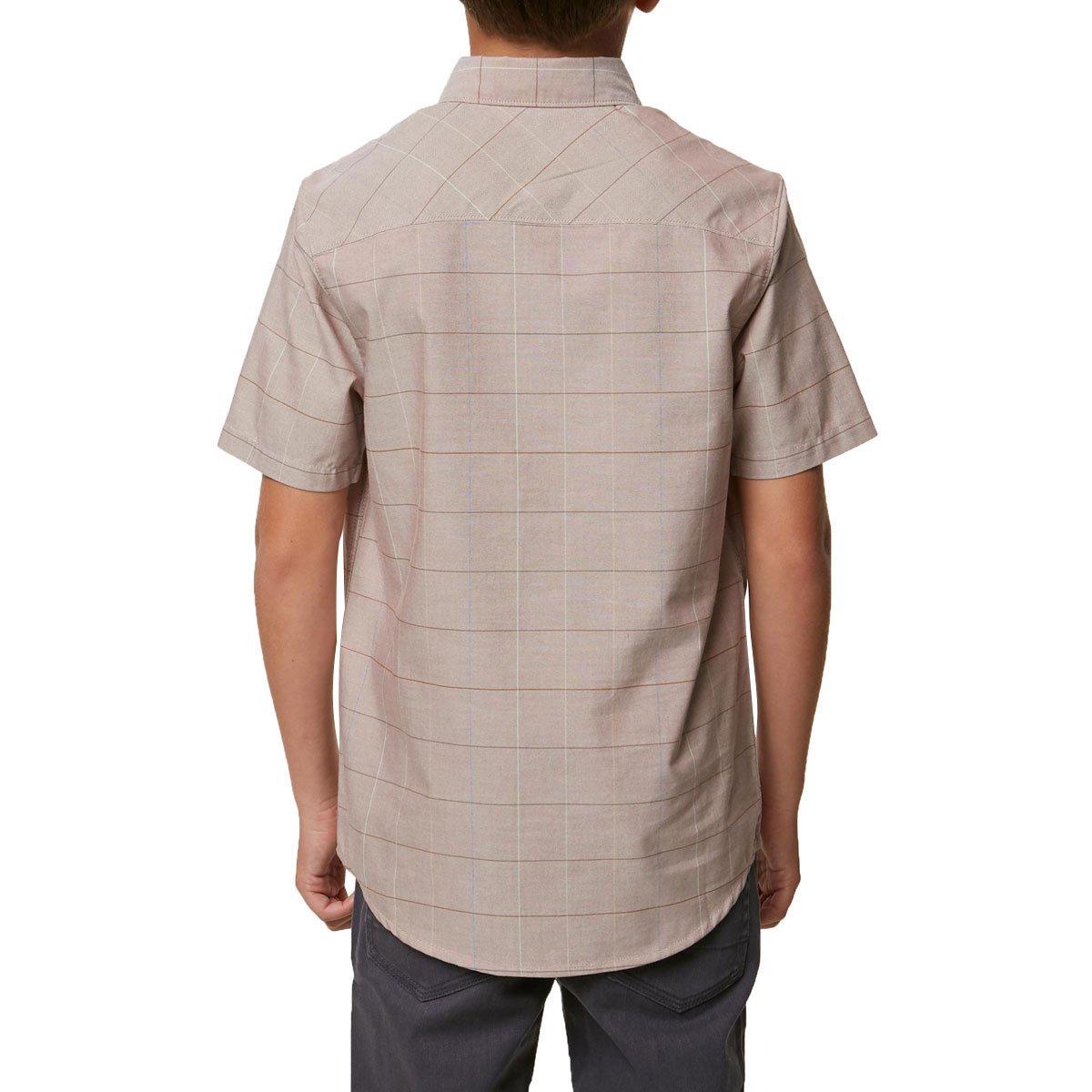ONeill Boys Gridlock Short Sleeve Woven
