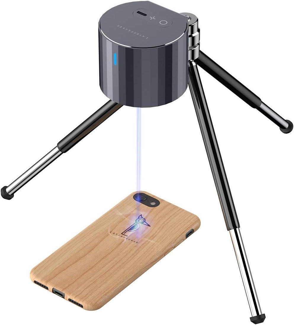 Amazon Com Laser Engraver Machines Laserpecker Pro Engraver Mini Handheld Etcher Laser Printer Cutter Desktop Laser Engraving Etching Machine With Protective Goggles For Diy Logo Wood Paper Leather Food Home Improvement