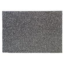 """3M Black Stripper Pad 7200, 20"""" x 14"""" (Case of 10)"""