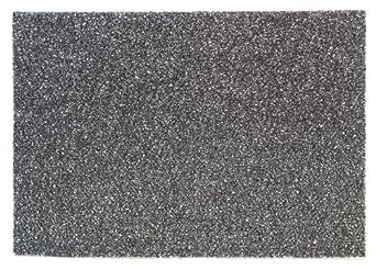 "3M 7200 Series Black Stripper Pad, 12"" x 18""  (Case of 5)"