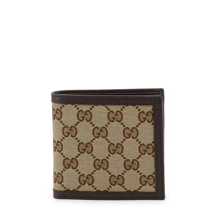 Amazon.com Gucci Mens Dollar Calf Original Beige/Brown GG