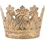 Gold Crown Cake Topper, Antique Gold Crown, Mini Crown