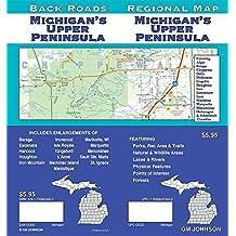 Michigan's Upper Peninsula, Michigan Regional Map