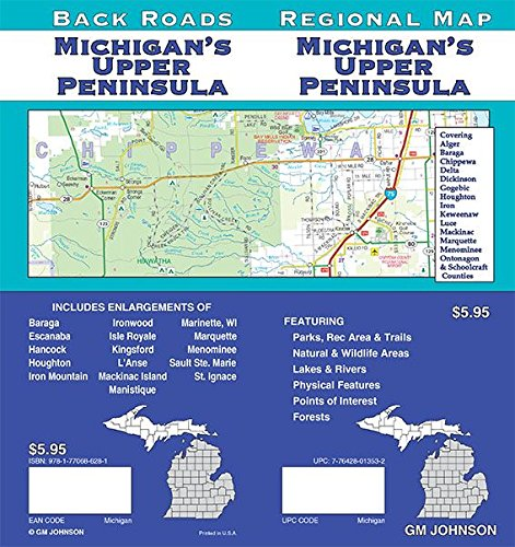 Michigan's Upper Peninsula, Michigan Regional Map