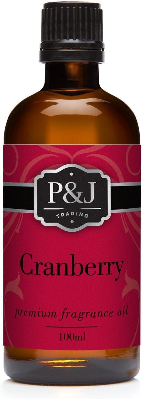 Cranberry Fragrance Oil - Premium Grade Scented Oil - 100ml/3.3oz