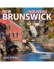 "2021 New Brunswick 6.5""x6.5"" Wall Calendar"
