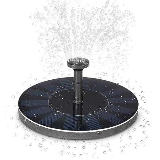 49 opinioni per Anself Solar-potere Pompa Fontana Brushless Le piante di con pannello solare
