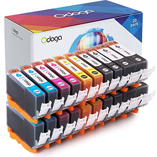 - Odoga Compatible PGI-220 CLI-221 Ink Cartridge Replacement for Canon Pixma MX870 MP560 MP620 MX860 iP3600 iP4600 iP4700 MP990 MP980 MP640 [4 XL Black, 4 Black, 4 Cyan, 4 Magenta, 4 Yellow] - 20 Pack