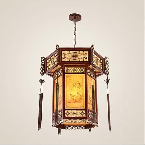 linternas chinas para lámparas de techo clásicas complejas ...