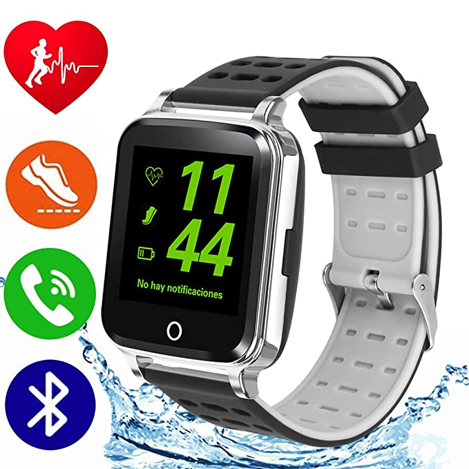 DOROIM Smart Watch, Fitness Tracker HR with Heart Rate Monitor, Bluetooh Activity Tracker Watch with Blood Pressure, Sleep Monitor, Smart Watches ...