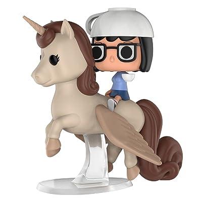 Funko Pop! Rides #40 Bob's Burgers Espresso Trip Tina & Unicorn (2020 Summer Convention Exclusive): Toys & Games