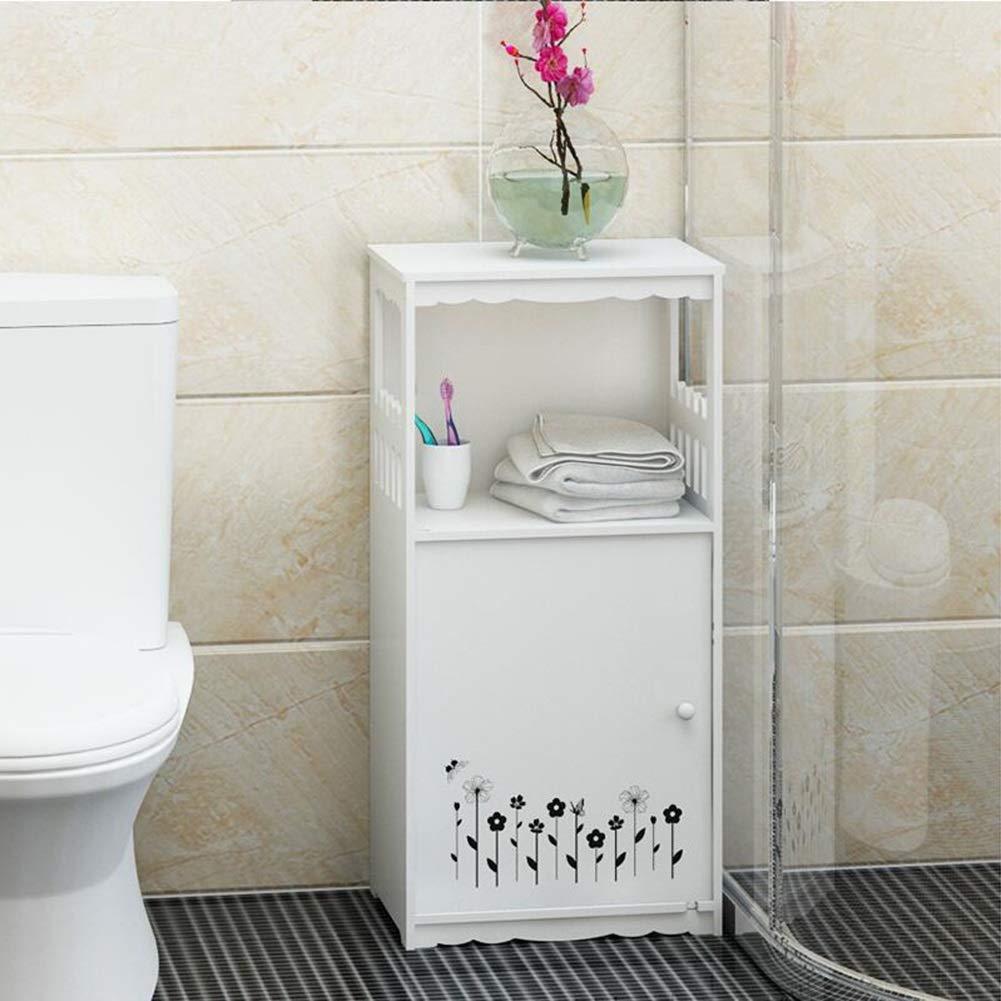バスルームの棚トイレトイレバスルームの棚床無料パンチングデスクヘアドライヤー収納ラック YIXIN (Color : B, Size : 38*28*80cm) B07TDNYRTT B 38*28*80cm