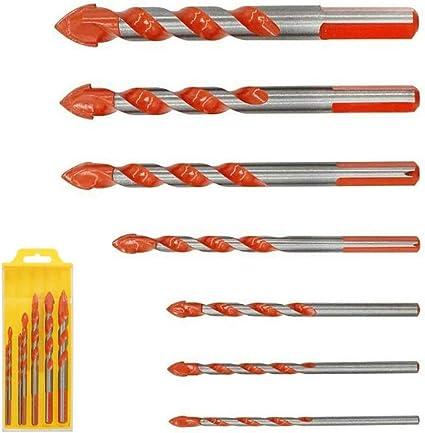 7pcs Triangular-overlord Multifunctional Drill Bits Ceramic wall drill T9P9
